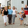 Long time family friends: Liz Stevenson, Malcolm and Frances Hachborn, Joanna and Mel Battison