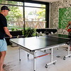 John and Jackie relaxing with Ping Pong