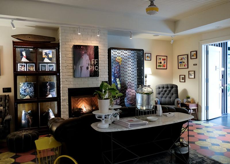 The lounge - near reception