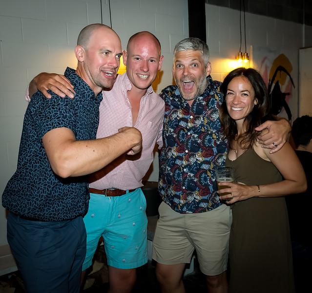 Joe, John C, Mike and Brianne