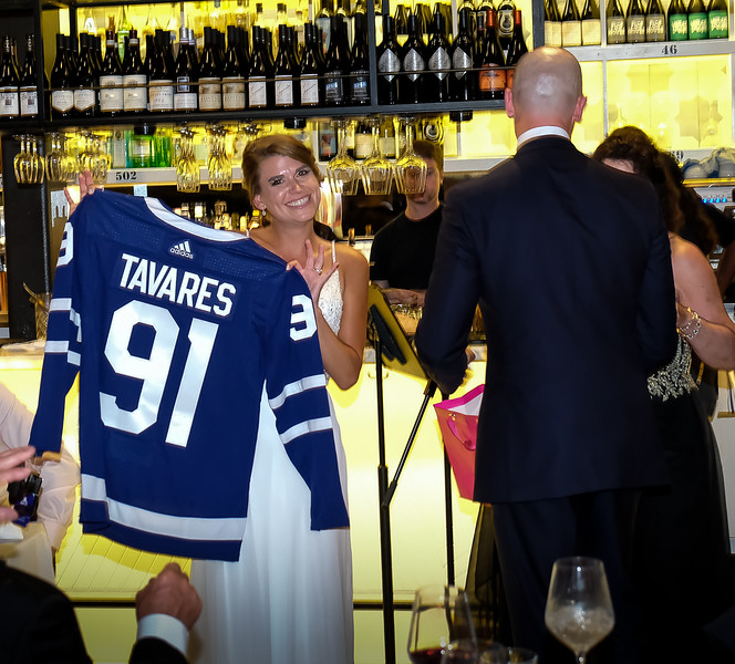 Andrea's initiation into the Kresta passion for the Leafs