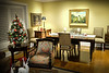"""The dinner table has been beautifully set by Liz for our """"Covid-19 dinner for two!"""""""