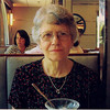 Mom at a diner on Long Island