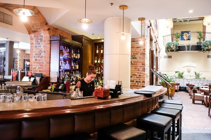 Bar next to lobby