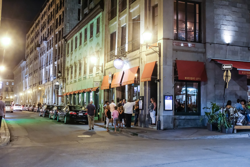 The summer evenings are warm and sultry - numerous bistros with live music.