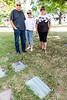 Liz, myself and my brother Don with his wife Suzanne took some time to visit the cemetery in Cote-de-Neiges where our parents and one brother were interred.