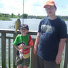 PATRICK REELED IN  THIS BLUEGILL