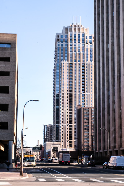 S 1st Street and Hennepin Ave
