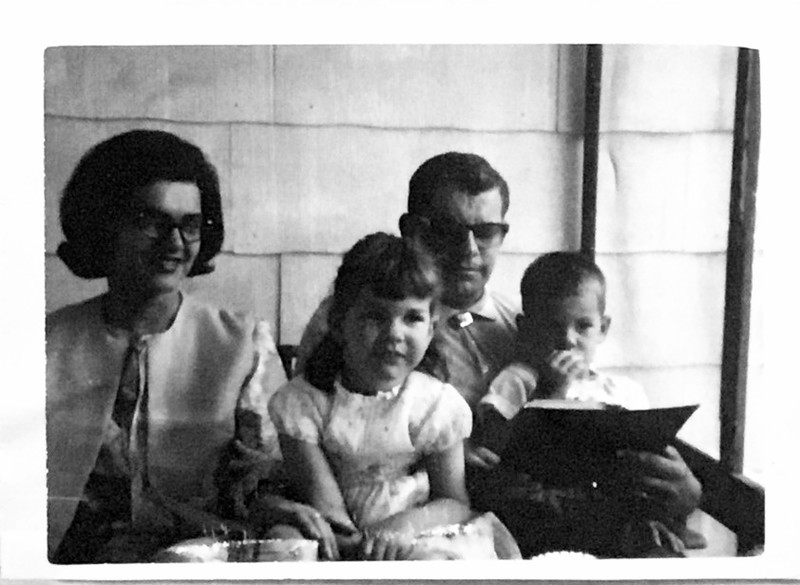 Betty Greene Randall - Maurice Randall - Lori Randall - Alan Randall - 1965