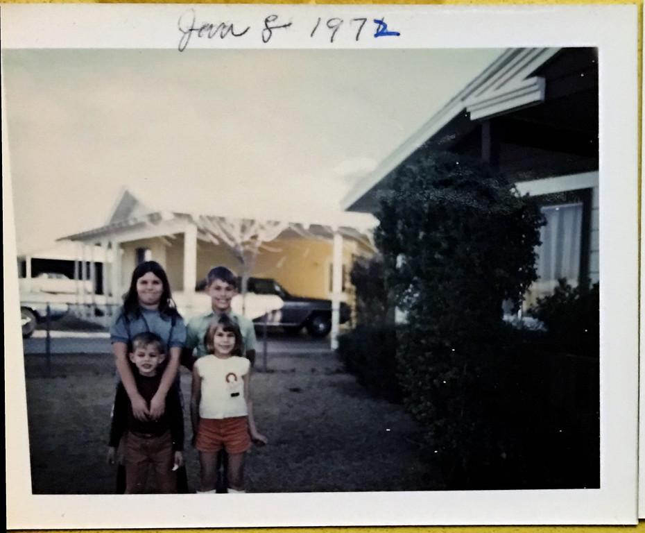 Lori Randall - Alan Randall - Scott Randall - Lori Randall - 1972