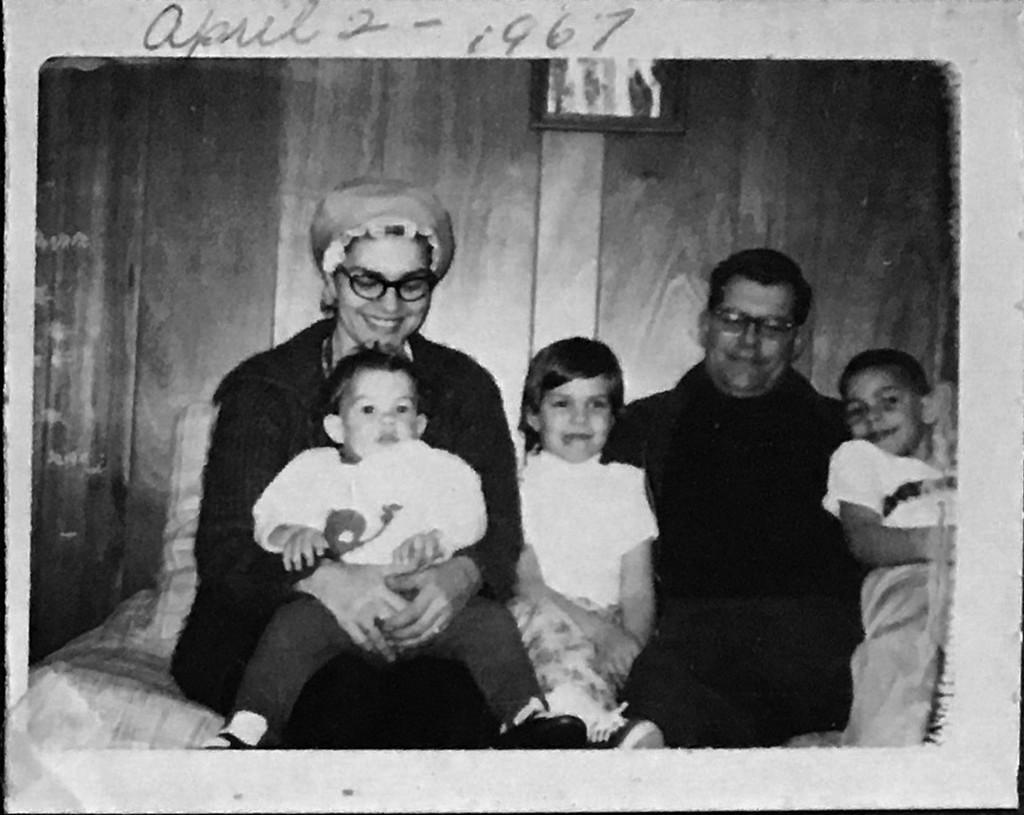Betty Greene Randall - Maurice Randall - Scott Randall - Lori Randall - Alan Randall - 1967