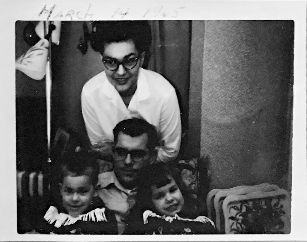Betty Greene Randall - Maurice Randall - Alan Randall - Lori Randall - 1965