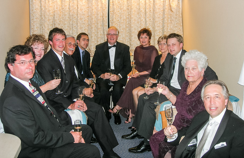 In 2006 a number of family and friends joined Nick and Helen for a New Years cruise in the Caribbean.
