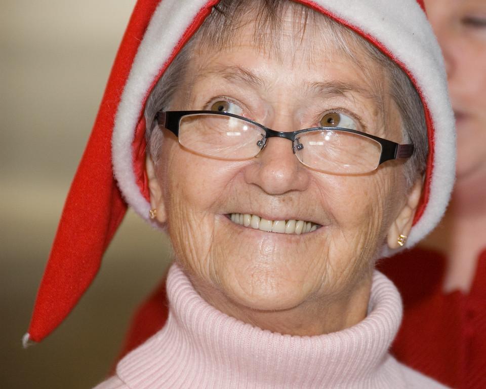 It's Great-Grandma Mimi - I like her hat.