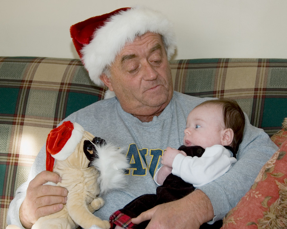 Hey Grandpa Mo - who's the Santa pug?