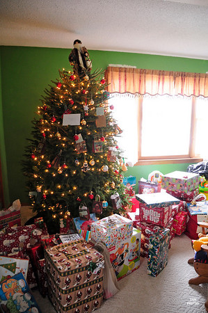 Joshua and Christmas 2008