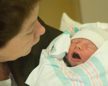 Grandmom Bilodeau says I yawn alot.
