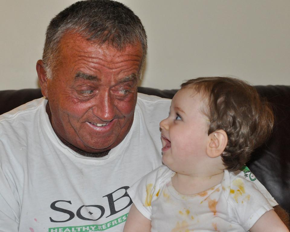 Grampy Mo - I'm digging your tan
