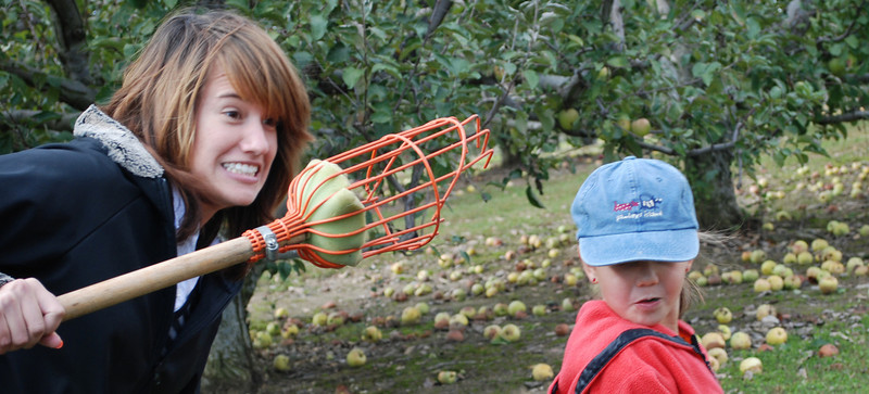 Hannah.... that is for apples!!!