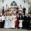 Dad - entire wedding party outside church