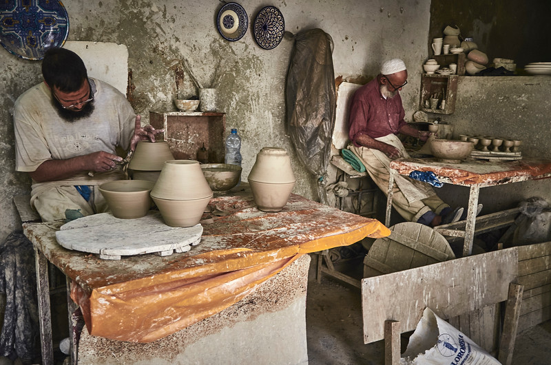A DIFFERENT WORKPLACE  1 - MAROCCO SERIES