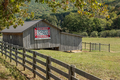 LOVE VA Barn