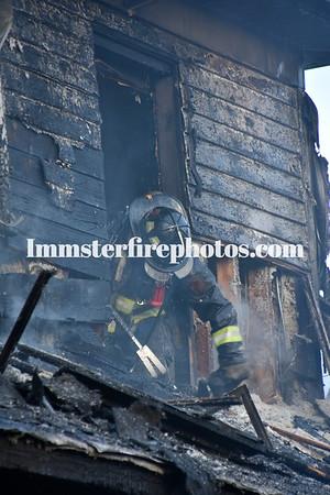 FARMINGDALE FD PROSPECT ST HOUSE FIRE