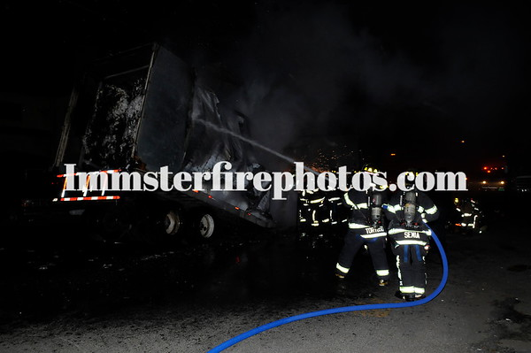 FARMINGDALE TRAILER FIRE