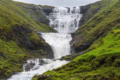 Cascada / waterfall Fossa, Streymoy