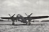 """DORNIER DO317 - In June 1940, Dornier produced plans for further development of the Do 217, which would have a pressurized cabin and more powerful engines and would be designated the Do 317. The Do 317 was one of the proposals submitted to the RLM for the """"Bomber B"""" project. Two versions of the Do 317 were proposed: the simplified Do 317A featuring conventional defensive armament, and the more advanced Do 317B with remotely-aimed Fernbedienbare Drehlafette-style gun turrets, heavier bombload, and an extended wing. Six prototypes of the Do 317A were ordered, and the first of these, the Do 317 V1, seen here, commenced its flight test program on September 8th, 1943. The Do 317 V1 was very similar in appearance to the Do 217, but featured a pressurized cabin and triangular tail fins. Trials with the Do 317 V1 revealed no real performance advance over the Do 217, so it was decided to complete the remaining five prototypes without cabin pressurization equipment and employ them as Henschel Hs293 missile launchers. At this time, the Do 317B project was abandoned due to changing wartime conditions."""