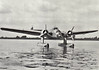 BLOHM & VOSS BV140 - The BV140 was a German multi-purpose seaplane of the 1930's. It was designed for use as a torpedo bomber or long-range reconnaissance aircraft. The Ha140 was a developed as a twin-engine floatplane, with an all-metal structure and an inverted gull wing, similar to the larger Ha139. The crew consisted of a pilot and radio operator, with a gunner in a revolving turret in the nose or in a second gun position to the rear. The torpedo or bomb load was accommodated in an internal bomb bay. Three prototypes were built, but the design was not carried any further, as the similar Heinkel He115 was selected for service.