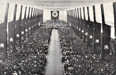 THE RISE OF THE NAZI PARTY.