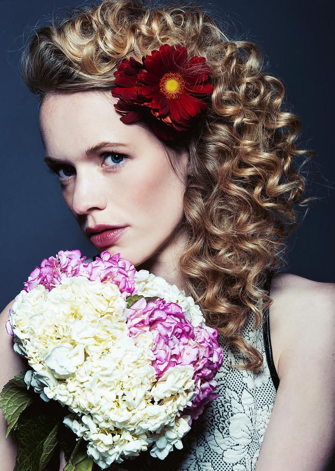 Model - Theresa Hoveken, Makeup - Ta Ming Chen, Hair - Ebone' Alloway, Retouching - Yulia Dunaeva