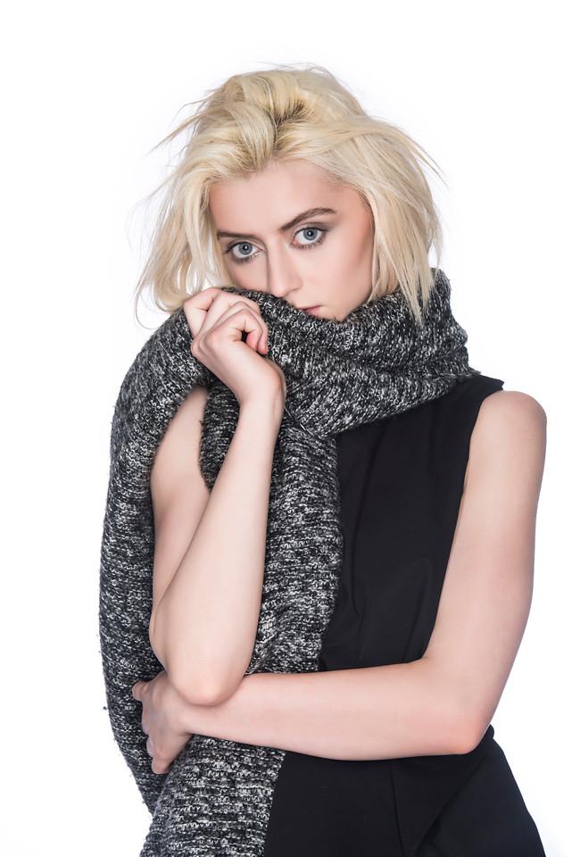 Model: Nina Burns, Makeup: Eve Love, Hair Styling: Anthony Lee, Designer/Wardrobe: Anna Pang