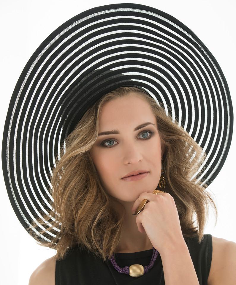 Model: Anna Baranova, Makeup:  Eve Love, Hair Styling: Angelo Canales, Wardrobe Stylist: Lori Eastlund