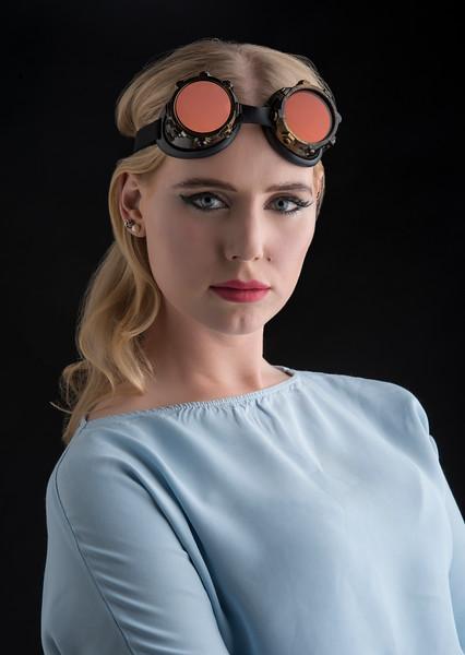 Model: Charlotte Reardon, MUA: Ximena Ocha, Stylist: Alison Friedman