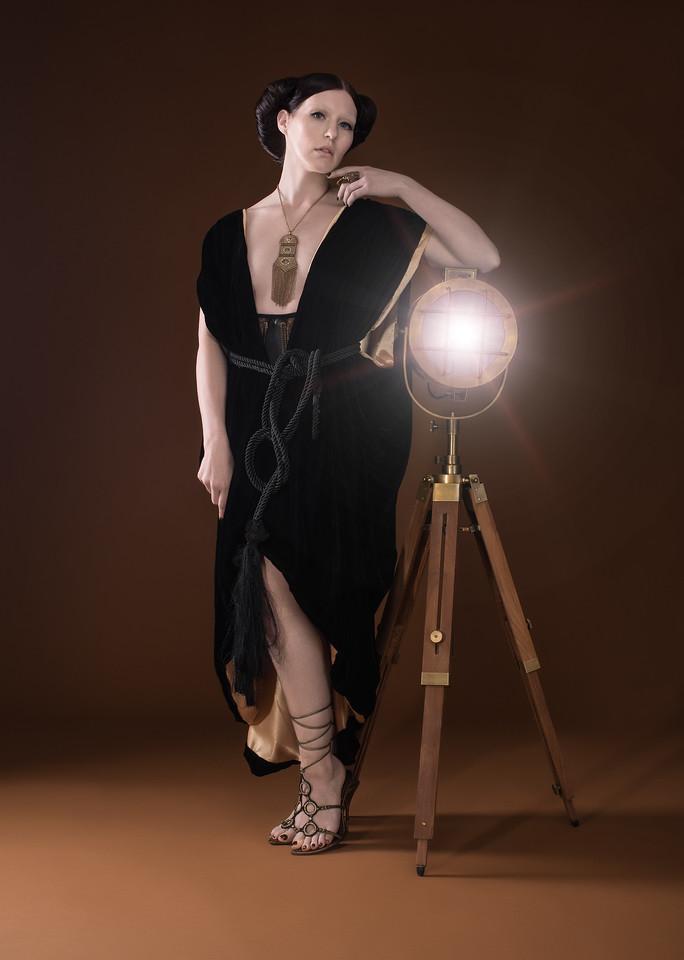 Model: Meagan Lee Farrell;  MUA: Guerline Fequiere; Hair Stylists:  Johanna Bolanos and Cassandra Normil; Wardrobe Designer/Stylist: Adrina Dietra