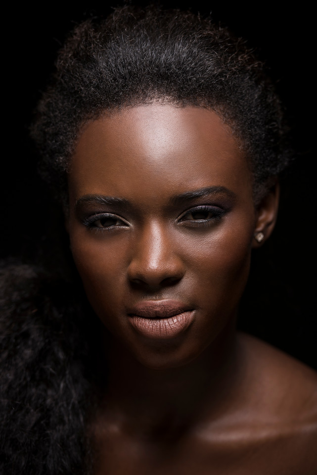 Model: Magne Ndiaye, Makeup: Taming Chen