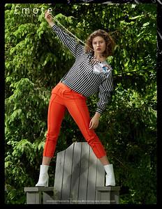 EMOTE MAGAZINE JULY 2020; MODEL CLAIRE SERSUN; DESIGNER JUS10H; PHOTOGRAPHER SCOTT PARKER PHOTO;