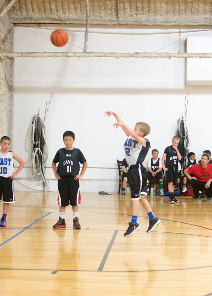 Kevin shooting free throws