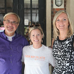 Gregg Seibert, Operations Manager for Vint Coffee Shop Toni Lavenson, Lesa Seibert.