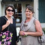 Susan Inman-Sansbury and Kim Plock.