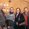 Bob Touchon, Vivian Kost, Brenda Touchon and Joe Hoffman.