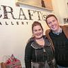 Karen Welch and David McGuire of Craft(s) Gallery.