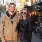 Jake Hatley and Leah Jonaitis.