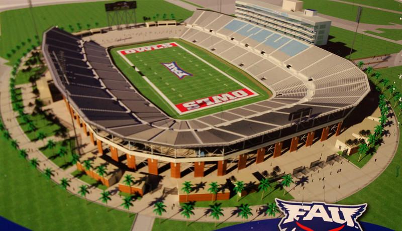 FAU Innovation Village, Stadium