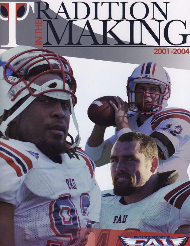 FAU Football Tradition Cover