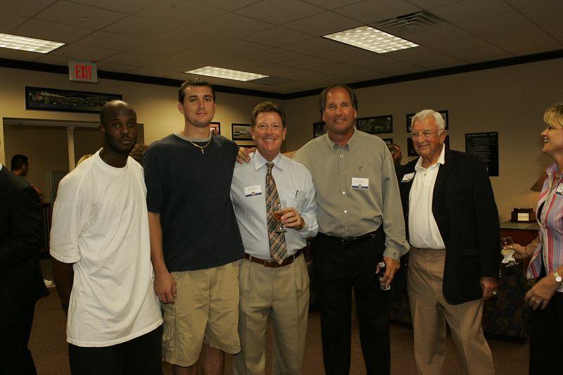 FAU Football Scholarship Reception - August 2004  0008
