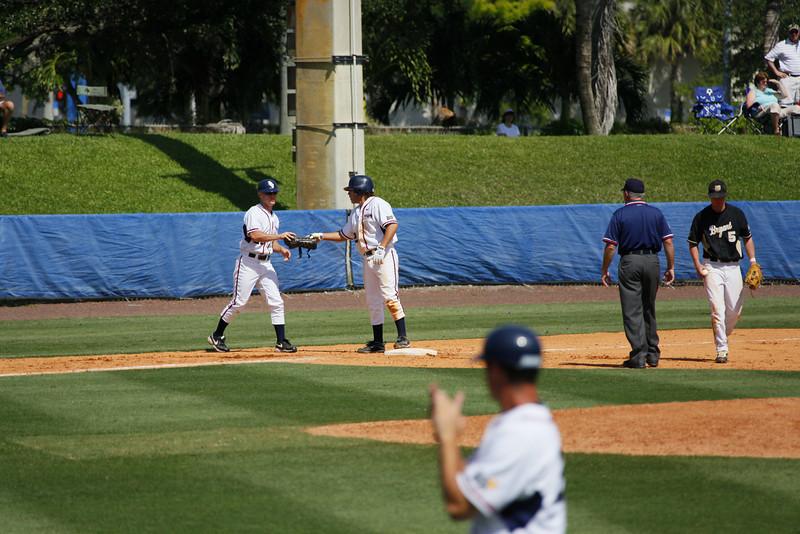 FAU Baseball vs Bryant 2009APR19-1pm-  (417)