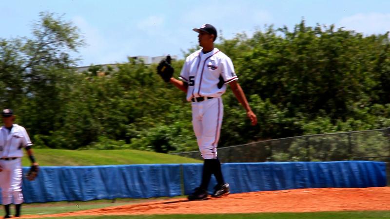 2009-04-20 FAU baseball vs Bryant Picthing 2
